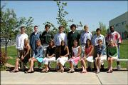 Pictured are the candidates for Free State High School Homecoming court. They are, front row from left, Molly Berthold, Cambry McNabb, Allison Yoder, Megan Wyatt, Flora Jiang, Shelly Netzer, Lynne Stahl and Molly Bullington; back row from left, Sam Buhler, Brady Morningstar, Chris Trepinski, Stephan Skepnek, Andrew Fyler, Alex Rock, Danny Schneider and Jarvis Doleman. Jiang and Doleman were crowned Homecoming queen and king on Sept. 17.