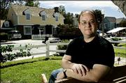 "Marc Cherry, creator of ABC&squot;s ""Desperate Housewives"" suburban drama series, appears on the set of the show in Universal City, Calif. The show premieres at 9 p.m. Sunday."