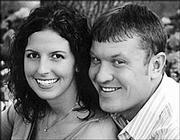 Abby Honomichl and Brian Haight