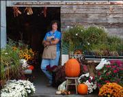 Pendleton's Country Market, 1446 E. 1850 Road, is throwing its first Fall-For-All Festival this weekend. Karen Pendleton, above, was one of the event's organizers.