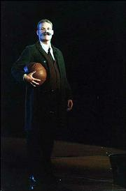 'James Naismith' made an appearance at the 1998 Late Night named in his honor.