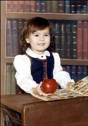 Shannon Portillo had just turned 2 years old when this picture was taken in September 1986.