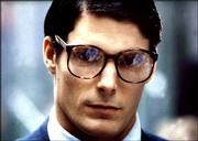 "As superman and alter ego Clark Kent, pictured in 1978, Christopher Reeve became so typecast that he initially struggled to find new roles once the ""Superman"" trilogy was complete."