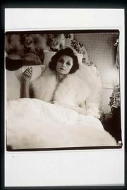 """Brenda Diane Duff Frazier, 1938 Debutante of the Year, at home,"" 1966, by Diane Arbus, Esquire Collection, Spencer Museum of Art."