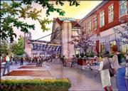 "Under a KU plan, Wescoe Hall would be given a new facade, in brick or terra cotta, a clock tower and a new entryway on the north side, commonly called ""Wescoe Beach."" The projects would be funded with a $30-per-credit-hour fee to students taking courses from the College of Liberal Arts and Sciences."