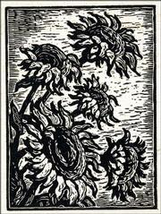 """Sunflowers,"" a print by Lindsborg artist Birger Sandzen (1871-1954), is part of ""A Kansas Art Sampler"" at the Spencer Museum of Art.<br> <a href= ""http://www.ljworld.com/multimedia/audio/2004/103104/1.html"" target=""_new"" onclick= ""window.open(&squot;http://www.ljworld.com/multimedia/audio/2004/103104/1.html&squot;,&squot;Photo&squot;,&squot;height=250,width=400,screenX=10,screenY=10,&squot; + &squot;scrollbars,resizable&squot;); return false;""> <img src=""http://www.ljworld.com/art/icons/icon_audio.gif"" border= ""0"" alt=""audio"">  Audio: ""Sunflowers""</a><br>"