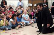 Cordley School is set to become the district's second to house English-language learners. Currently, those students attend Hillcrest School. On Friday, Kansas University students and faculty, including tenor Hugo Vera, presented an opera music program to Hillcrest students.