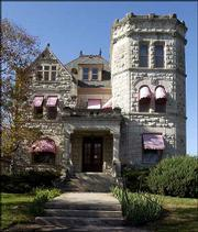 The Castle Tea Room is at 1307 Mass.