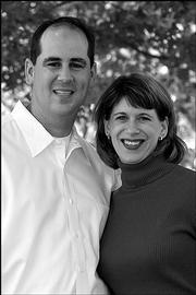 Tim Kress and Lisa Pinamonti