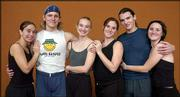 The Bowery Dancers, from left, are Christine Scott, Jeff Potter, Ellie Goudie-Averill, Brandi Green, Michael Ingle and Kathleen O'Connor. Not pictured are Beau Hancock and Alison Mize.