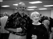 Jerry and Liz Hare attend the Trinity Episcopal Church Progressive Dinner. The event, which was Oct. 3, began with cocktails at Bishop Seabury Academy. The Hares served dessert at their home.