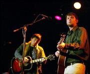 Jay Farrar and Canyon play Slim's in San Francisco in January. Farrar will perform a solo set at 7 p.m. tonight at The Bottleneck, 737 N.H.