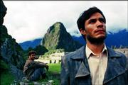 "Gael Garcia Bernal, right, plays Ernesto ""Che"" Guevara in Walter Salles&squot; ""The Motorcycle Diaries."""