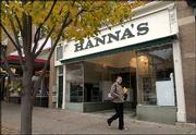 Hanna's, an appliance store at 933 Mass., wil be closing at the end of the year. The store has been in Lawrence for five decades.