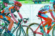 Fourteen-year-old Lawrence cyclist Joseph Schmalz (335) competes in the road-race portion of Junior Nationals. Schmalz is making a name for himself in the national cycling world. Schmalz, a ninth-grader at West Junior High, ranks ninth in the country among junior cyclists.