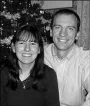 Jeni Brockman and Stephen Eggers