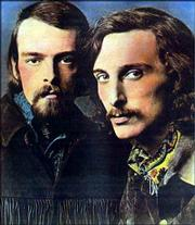 Brewer & Shipley, circa 1970, became renowned for their folk-rock sound.