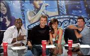 """American Idol"" judges, from left, Randy Jackson, guest judge Kenny Loggins, Paula Abdul and Simon Cowell, return for the show&squot;s fourth season."