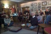 "Members of the Spiritual cinema Soul Circle of Lawrence-Topeka gather Sunday at the home of Dr. Randy and Sue Kidd to watch and discuss ""Beyond Bob."" The group meets once a month in Lawrence and again at Unity Church of Topeka."