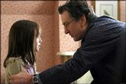 """Robert De Niro, right, plays the father of Dakota Fanning in the thriller """"Hide and Seek."""" The film, which opens today in Lawrence, revolves around a widower whose daughter creates an imaginary friend named Charlie and develops some gruesome habits."""