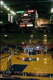 KU athletic department officials recently announced plans to renovate Allen Fieldhouse for the second time since 2005.