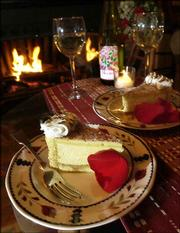 "Rich desserts, like the tiramisu pictured above, are an essential part of any romantic meal, says Diane Brown, author of ""The Seduction Cookbook."""