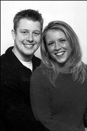 Derek Nicholson and Mindy Carlson
