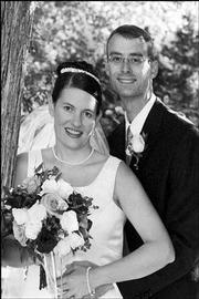 Jennifer and Brad Burton
