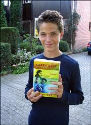 OTTO JAN VERKERK, 12, read five books during three weeks of vacation last summer. He lives in Beek, a town of 17,000 people in the southern part of the Netherlands.