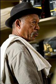 "Jon Niccum&squot;s Oscar Pick: Morgan Freeman, best supporting actor, ""Million Dollar Baby."""