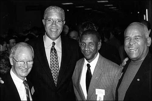 Photo From Left Ted Owens Walt Wesley John Douglas And
