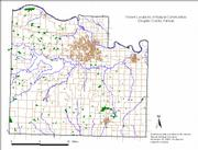 Known locations of natural communities in Douglas County.