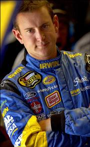 Kurt Busch has won four of the past six Nextel Cup races at Bristol Motor Speedway.