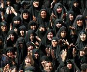 Shiite worshippers gather for prayer during al-Arbaeen ceremonies in Karbala, Iraq. Thursday's holiday marks the end of a 40-day mourning period for one of the Shiite religion's most important saints, the grandson of Islam's Prophet Muhammad, Imam Hussein, who was killed in a seventh-century battle. Violence continued in Iraq despite the holiday.