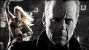 "Bruce Willis plays a hard-boiled cop in an adaptation of Frank Miller&squot;s ""Sin City."""