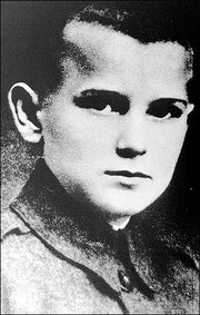 Pope John Paul II, the former Karol Wojtyla, is seen when he was 12, in Wadowice, Poland.