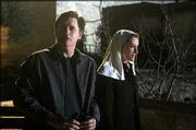 "Bill Pullman, left, as Dr. Richard Massey and Natascha McElhone as Sister Josepha Montafiore appear in the new NBC religious miniseries ""Revelations."" The show premieres at 8 p.m. Wednesday."