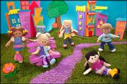 """The Real Kidz """"family"""" includes biracial dolls of different backgrounds. Toymaker Courtney Helm says the possibilities for the line are almost limitless."""