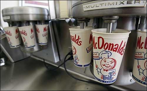 photo milk shake machines are displayed in ray krocu0027s first ljworldcom - Milkshake Machine