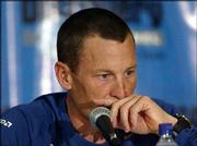 Cyclist Lance Armstrong contemplates a question from a reporter Monday during a news conference in Augusta, Ga., where he announced he will retire from the sport after this year's Tour de France.