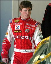Kasey Kahne finished second in the 2005 Advance Auto Parts 500 at Martinsville Speedway.