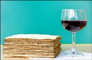 Unleavened bread and wine are important elements in the celebration of Passover, the Jewish holiday commemorating the Exodus from Egypt.