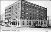 The Eldridge Hotel is shown in the 1950s.