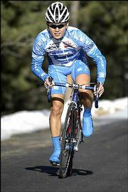 Jay Ku, of Kansas City, Mo., is one of the participants in this weekend's National Collegiate Cycling Championships.
