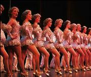 "Big tap numbers and dazzling costumes highlighted the musical ""42nd Street"" Wednesday at the Lied Center."