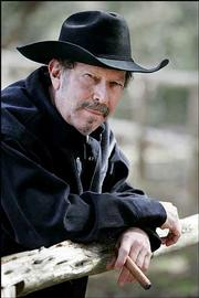 Musician and author Kinky Friedman plans to run for governor of Texas in 2006. Friedman, pictured Jan. 21 at his ranch near Medina, Texas, announced his candidacy Feb. 3 in front of the Alamo in San Antonio.