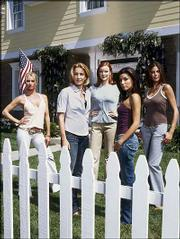 "The stars of ABC&squot;s hit primetime series, ""Desperate Housewives,"" are, from left, Nicollette Sheridan, Felicity Huffman, Marcia Cross, Eva Longoria and Teri Hatcher. The show&squot;s season finale airs tonight."