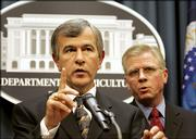 Agriculture Secretary Mike Johanns confirms another case of mad cow disease in the United States.