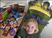 Amanda Berg is looking forward to the release of the new Harry Potter book. Berg, who works at the Oread Bookstore, said she became a fan as soon as she read her first one in the series.