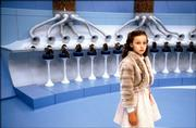 "Veruca Salt (Julia Winter)  provides a textbook lesson in spoiled behavior in ""Charlie and the Chocolate Factory."""
